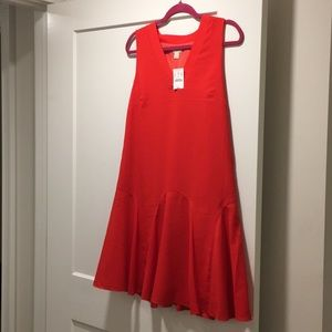 Never worn float red dress!